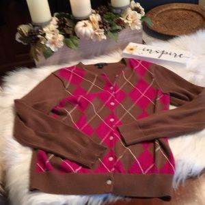 Lands' End Cotton Sweater Size Small